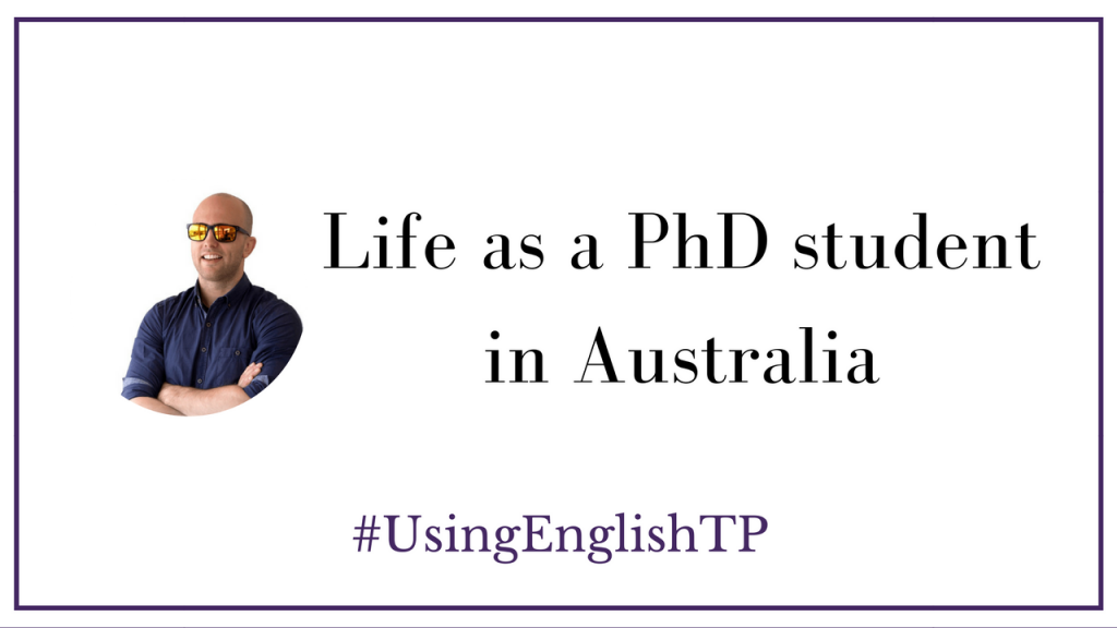 Life of a Ph.D. Student in Australia? (Interview with Pete from Aussie English)