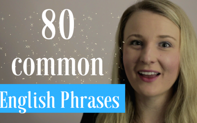 80 Common English Phrases