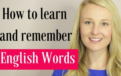 How To Learn And Remember English Words