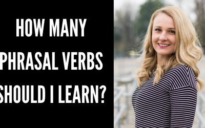 How many phrasal verbs should I learn?
