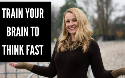 How to Train your Brain to Think Fast in English!