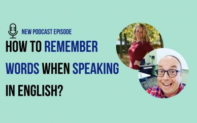 How to remember English Vocabulary while speaking in English