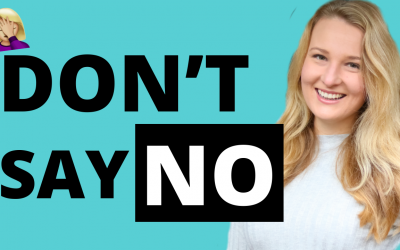 DO NOT SAY NO – Be Polite Speaking English