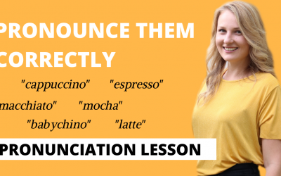 Coffee Vocabulary you've been pronouncing wrong