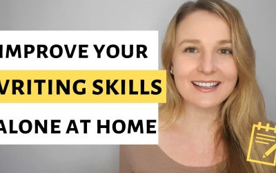 How to improve your writing skills alone at home?
