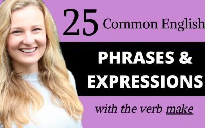 English Phrases and Expressions with MAKE