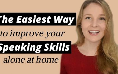 The EASIEST way to practice ENGLISH SPEAKING ALONE AT HOME in 2020